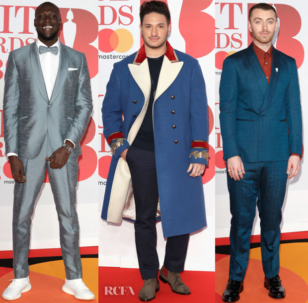 The BRIT Awards 2018 Menswear Red Carpet Roundup - Red Carpet ...