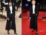 Tilda Swinton In Chanel - 'Isle of Dogs' Berlinale International Film Festival Premiere & Opening Ceremony