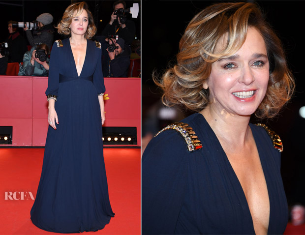 Valeria Golino In Prada - 'Daughter of Mine' Berlinale International Premiere