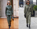 Victoria Beckham gives her Fall 2018 collection its first outing