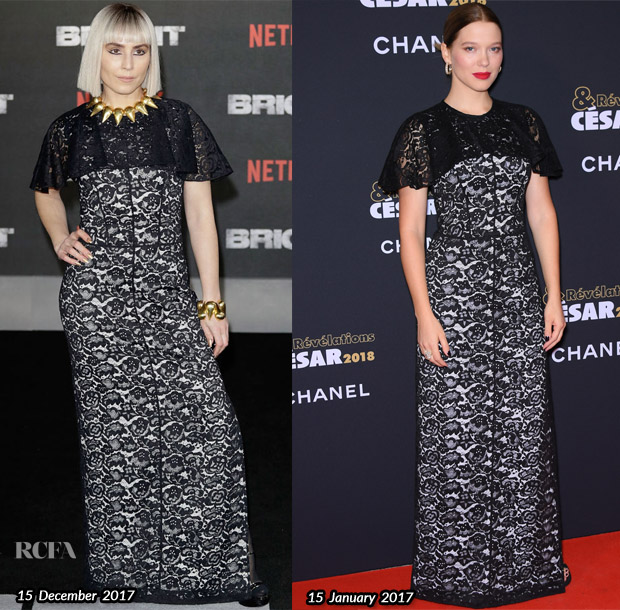 who wore louis vuitton better noomi rapace or lea seydoux red