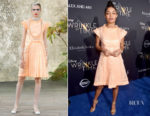 Yara Shahidi In Chanel - 'A Wrinkle In Time' LA Premiere