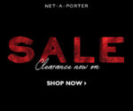 NET-A-PORTER's final clearance sale ends TODAY