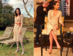 Alicia Vikander In Altuzarra - Live with Kelly & Ryan