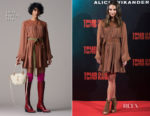 Alicia Vikander In Chloe - 'Tomb Raider' Madrid Photocall