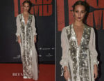 Alicia Vikander In Louis Vuitton - 'Tomb Raider' Stockholm Premiere
