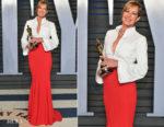 Allison Janney In Brandon Maxwell -  2018 Vanity Fair Oscar Party