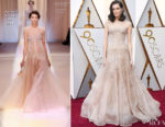 Allison Williams In Armani Privé - 2018 Oscars