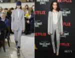 Allison Williams In Gabriela Hearst - Netflix's 'A Series Of Unfortunate Events' Season 2 Premiere