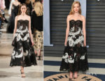 Amanda Seyfried In Oscar de la Renta - 2018 Vanity Fair Oscar Party