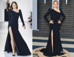 Amy Adams In Christian Siriano - 2018 Vanity Fair Oscar Party
