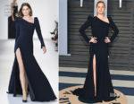 Amy Adams In Christian Siriano - 2018 Vanity Fair Oscar Party