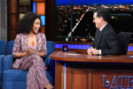 Angela Bassett In Missoni - The Late Show with Stephen Colbert