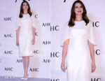 Anne Hathaway In Givenchy - AHC 'Sharing The Joy of Beauty with Anne Hathaway'