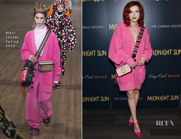 Bella Thorne In Marc Jacobs - 'Midnight Sun' New York Screening