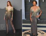 Betty Gabriel In Pamella Roland - 2018 Vanity Fair Oscar Party