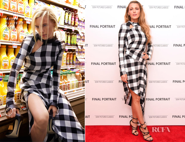 Blake Lively In Monse - 'Final Portrait' New York Screening