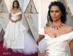 Camila Alves In Vivienne Westwood Couture - 2018 Oscars
