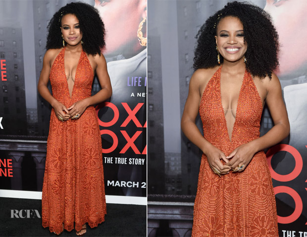 Chanté Adams In Martha Medeiros - 'Roxanne Roxanne' New York Premiere