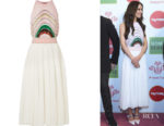 Cheryl Cole's Missoni Plissé Midi Dress