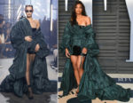 Ciara In Alexandre Vauthier Couture - 2018 Vanity Fair Oscar Party