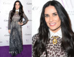 Demi Moore In Christian Dior - International Women's Day Celebration