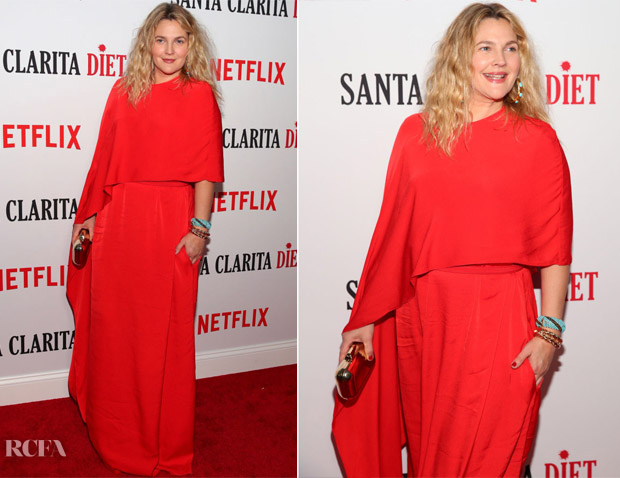 Drew Barrymore In Stella McCartney - 'Santa Clarita Diet' Season 2 World Premiere
