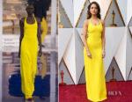 Eiza Gonzalez In Ralph Lauren Collection - 2018 Oscars