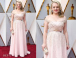 Elisabeth Moss In Christian Dior Couture - 2018 Oscars