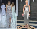 Elizabeth Banks In Ralph & Russo Couture - 2018 Vanity Fair Oscar Party