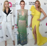 Elton John's AIDS Foundation Academy Awards Viewing Party Red Carpet Roundup