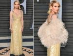 Emma Roberts In Prada - 2018 Vanity Fair Oscar Party