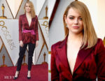 Emma Stone In Louis Vuitton - 2018 Oscars