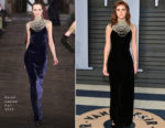 Emma Watson In Ralph Lauren Collection - 2018 Vanity Fair Oscar Party