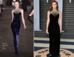 Emma Watson In Ralph Lauren Collection - 2018 Vanity Fair Oscar Party