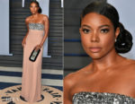 Gabrielle Union In Prada - 2018 Vanity Fair Oscar Party