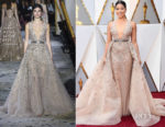Gina Rodriguez In Zuhair Murad Couture - 2018 Oscars