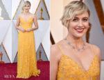 Greta Gerwig In Rodarte - 2018 Oscars