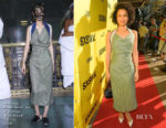 Gugu Mbatha-Raw In Andreas Kronthaler for Vivenne Westwood  - 'Fast Color' SXSW Festival Premiere
