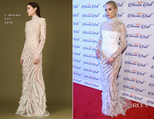 Halsey In J. Mendel - 9th Annual Blossom Ball