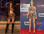 Halsey In Raisa & Vanessa and Galia Lahav Couture - 2018 iHeartRadio Music Awards