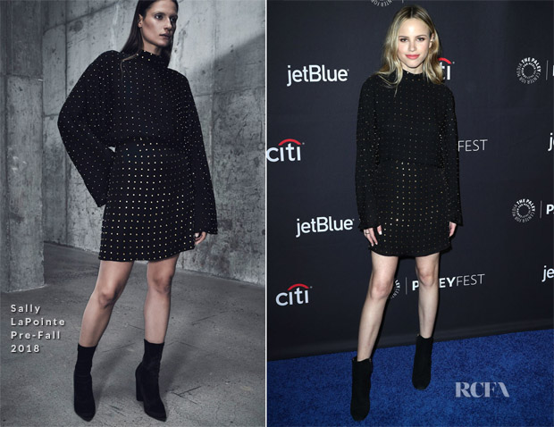 Halston Sage In Sally LaPointe - PaleyFest Los Angeles: 'The Orville'