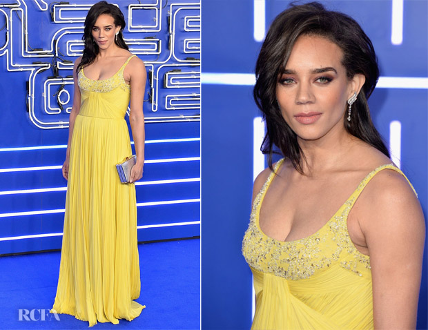 Hannah John-Kamen In J. Mendel - 'Ready Player One' London Premiere