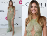 Heidi Klum In Georges Hobeika - Elton John's AIDS Foundation Academy Awards Viewing Party