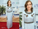 Isabelle Huppert In Prada - Miami Film Festival 2018