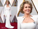 Jane Fonda In Balmain - 2018 Oscars