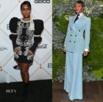Janelle Monae In Andrew Gn & Bella Freud - Pre-Oscars Events