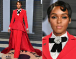 Janelle Monae In Christian Siriano - 2018 Vanity Fair Oscar Party