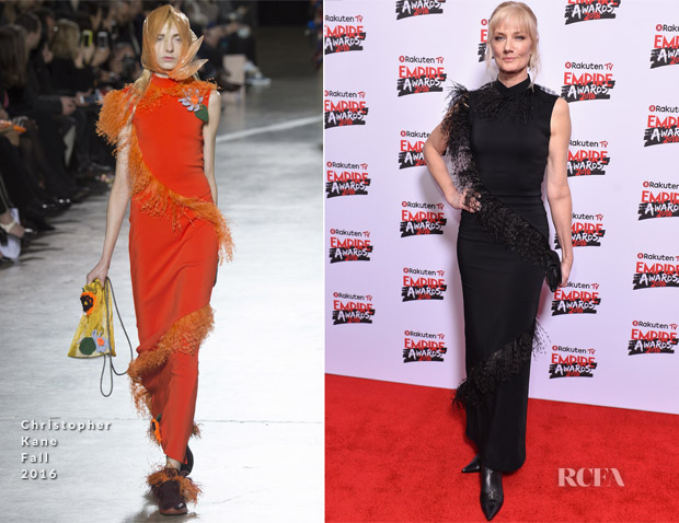 Joely Richardson In Christopher Kane - Empire Awards 2018