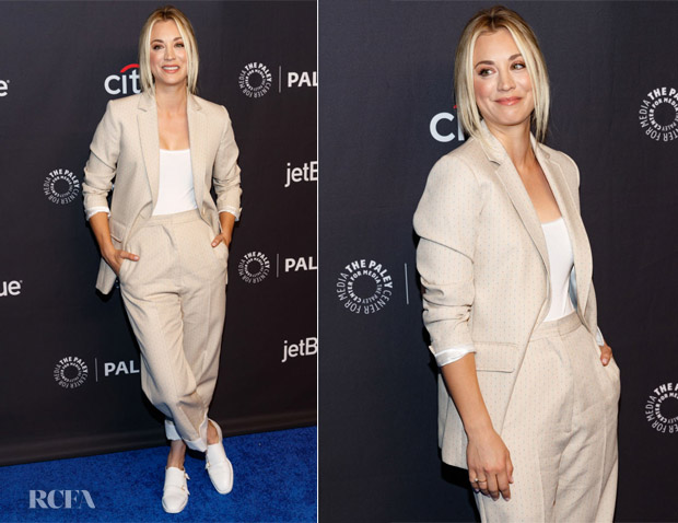 Kaley Cuoco In Sandro -  PaleyFest Los Angeles: 'The Big Bang Theory'